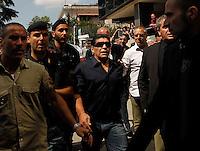 Diego Armando Maradona durante un audizione alla commisione tributaria Provinciale per discutere del suo ricorso contro Equitalia Former Argentine soccer star Diego Maradona presented a hefty tax file to Italian authorities, for  outstanding tax bill of about 39 million euros.