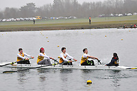 023 ChristchurchRC IM3.4+..Marlow Regatta Committee Thames Valley Trial Head. 1900m at Dorney Lake/Eton College Rowing Centre, Dorney, Buckinghamshire. Sunday 29 January 2012. Run over three divisions.