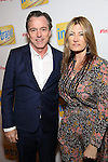 Derek McLane & Lia Vollack attend the Broadway Opening Night Performance of 'In Transit'  at Circle in the Square Theatre on December 11, 2016 in New York City.