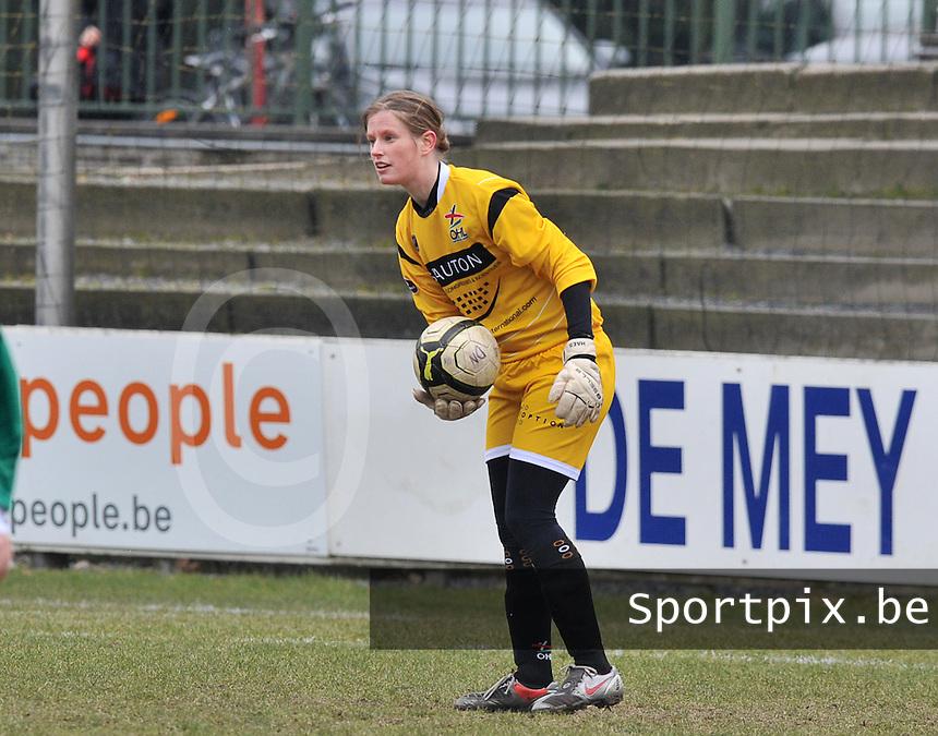 Club Brugge Dames - OHL Oud Heverlee Leuven : Anneleen Haesen.foto DAVID CATRY / Vrouwenteam.be