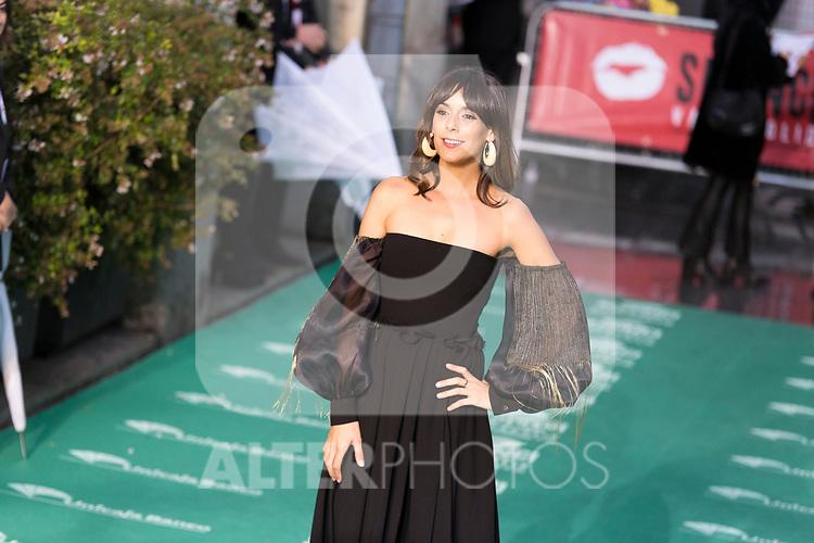 Actress Belen Cuesta during 64 Seminci´s Green Carpet. October 19,2019. (ALTERPHOTOS/IVAN TOME)