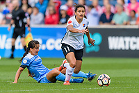 Bridgeview, IL - Sunday June 25, 2017: Raquel Rodriguez during a regular season National Women's Soccer League (NWSL) match between the Chicago Red Stars and Sky Blue FC at Toyota Park.