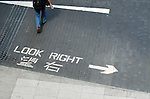 Hong Kong harbour  Hong Kong, traffic signs.
