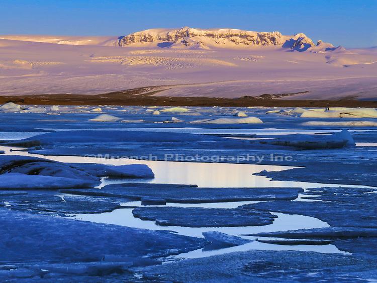 Jokularlon Glacial River Lagoon,Vatnajokull National Park,Iceland