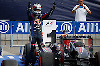O piloto alemão Sebastian Vettel, da Red Bull durante no GP de Fórmula 1 da Itália, disputado no circuito de Monza, neste domingo (08). (Foto: Pixathlon / Brazil Photo Press).