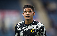 Morgan Gibbs-White of Wolves pre match during the Premier League match between Leicester City and Wolverhampton Wanderers at the King Power Stadium, Leicester, England on 10 August 2019. Photo by Andy Rowland.