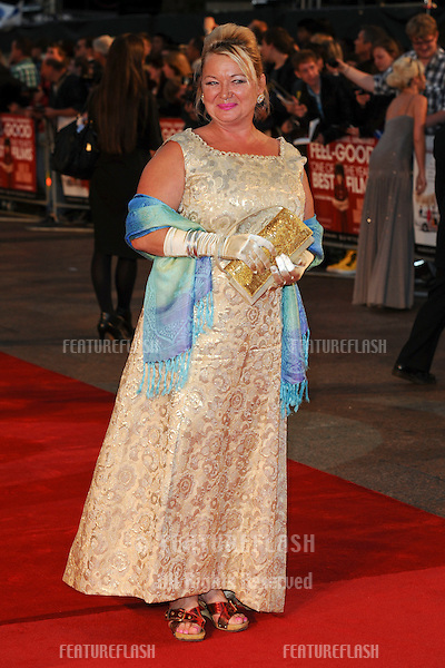 Nicola Duffett arriving for the film premiere of 'Made In Dagenham' at Odeon Leicester Square, London. 20/09/2010  Picture by: Steve Vas / Featureflash