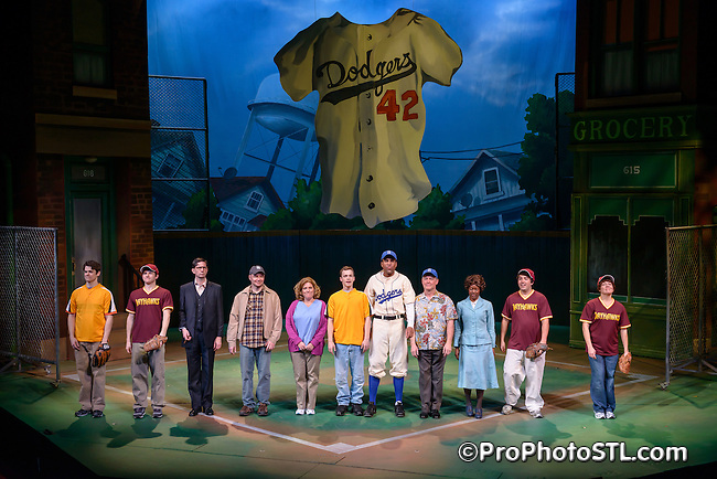 Jackie and Me presented by Metro Theater Company at Edison Theatre in St. Louis, MO on Jan 9, 2013.
