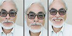 "SAN DIEGO, CA. JULY 24, 2009:  Hayao Miyazaki photographed at Comic-Con International in san Diego, July 24, 2009. A look at the work of the famed japanese animator, creator of films such as ""Kiki's Delivery Service,"" ""Howl's Moving Castle"" and ""My Neighbor Totoro"". Miyazaki's latest movie ""Ponyo"" arrives in the U.S. in August,"
