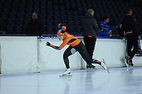 SCHAATSEN: HEERENVEEN: 19-11-2016, IJsstadion Thialf, KNSB trainingswedstrijd, Rachelle van der Griek, ©foto Martin de Jong