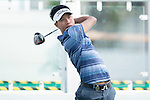 Danthai Boonma of Thailand tees off the first hole during the Pro-Am golf tournament of the 58th UBS Hong Kong Open as part of the European Tour on 07 December 2016, at the Hong Kong Golf Club, Fanling, Hong Kong, China. Photo by Marcio Rodrigo Machado / Power Sport Images