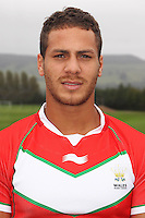 PICTURE BY IAN LOVELL/WRL...Rugby League - Wales Rugby League Headshots 2011 - 21/10/11...Wales Lloyd White.