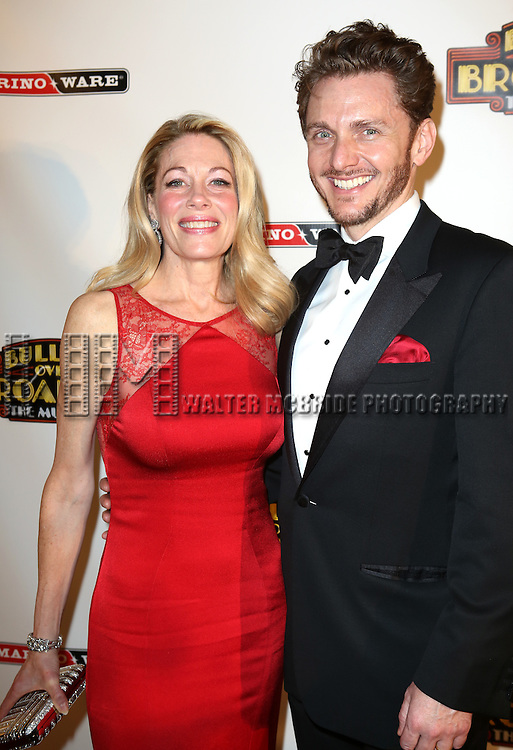 """Marin Mazzie and Jason Danieley attends the Broadway Opening Night After Party for ''Bullets Over Broadway'"""" at the Metropolitan Museum on April 10, 2014 in New York City."""