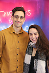 "Justin Peck and Tiler Peck attends the Broadway Opening Night Arrivals for ""Angels In America"" - Part One and Part Two at the Neil Simon Theatre on March 25, 2018 in New York City."