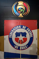 Photo before the match Chile vs Panama, Corresponding to Group -D- America Cup Centenary 2016 at Lincoln Financial Field.<br /> <br /> Foto previo al partido Chile vs Panama, Correspondiente al Grupo -D- de la Copa America Centenario 2016 en el  Lincoln Financial Field, en la foto: Vestidores de Chile<br /> <br /> <br /> 14/06/2016/MEXSPORT/Osvaldo Aguilar.