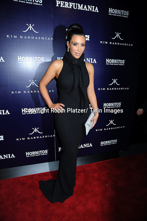 "Kim Kardashian attending The party celebrating Perfumania and Kim Kardashian's appearance on NBC's ""The Apprentice"".on November 10, 2010 in New York City."