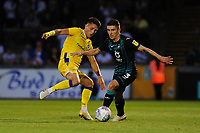Declan John of Swansea City in action during the pre-season friendly match between Bristol Rovers and Swansea City at The Memorial Stadium in Bristol, England, UK. Tuesday, 23 July 2019