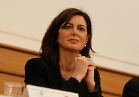 Laura Boldrini Speaker of the Italian Chamber of Deputies Apertura centro Ermes alla Federico II