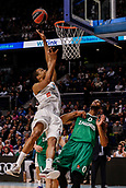 22nd March 2018, Wizink Centre, Madrid, Spain; Turkish Airlines Euroleague Basketball, Real Madrid versus Zalgiris Kaunas; Anthony Randolph (Real Madrid Baloncesto) up for a layup and 2 points
