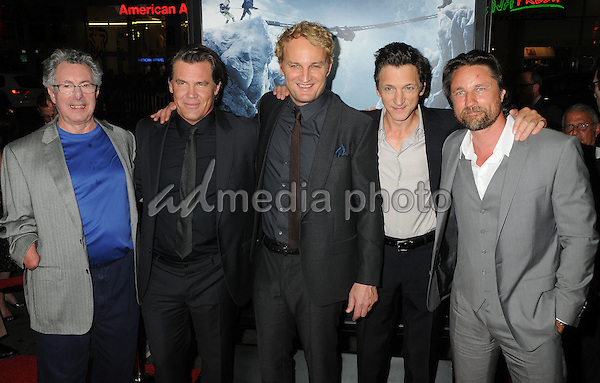 "9 September 2015 - Hollywood, California - Dr. Beck Weathers, Josh Brolin, Jason Clarke, John Hawkes, Martin Henderson. ""Everest"" Los Angeles Premiere held at the TCL Chinese Theatre. Photo Credit: Byron Purvis/AdMedia"