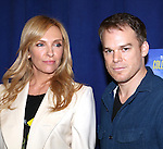 Toni Collette and Michael C. Hall attending 'The Realistic Joneses'  Meet & Greet  at The New 42nd Street Studios on February 20, 2014 in New York City.