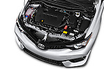 Car Stock 2017 Toyota Corolla-iM CVT-Automatic 5 Door Hatchback Engine  high angle detail view