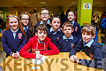 The Scoil Chriost Rí, Drumacurra National School attending the ISTA Primary Schools Annual Science Quiz in the IT Tralee's South campus on Thursday night last.L-r, Megan Barrett, Sarah Diggins, Cian Diggins, Paddy Diggins, Rory Walsh, Zach Walsh, Ella Diggins and Joesph Harty.