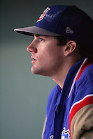 May 26, 2010: Nate Eovaldi of the Inland Empire 66'ers during game against the Bakersfield Blaze at Arrowhead Credit Union Park in San Bernardino,CA.  Photo by Larry Goren/Four Seam Images