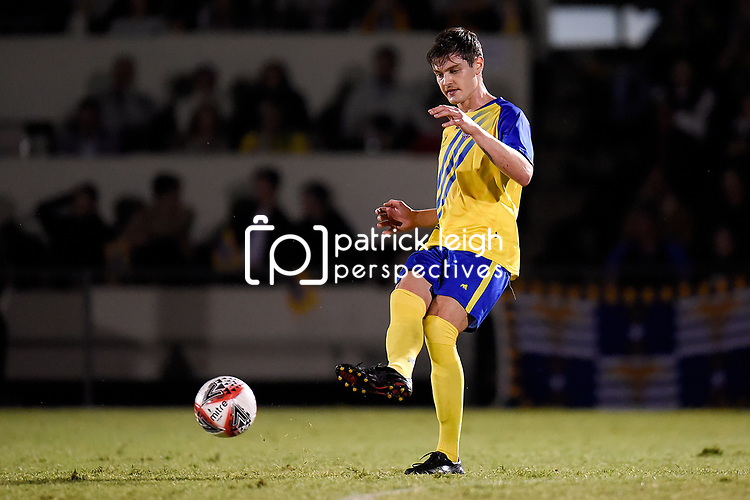 BRISBANE, AUSTRALIA - AUGUST 28:  during the Round of 16 Westfield FFA Cup match between Brisbane Strikers and Manly United on August 28, 2019 in Brisbane, Australia. (Photo by Patrick Leigh Kearney)