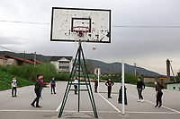 Serbia. Veliki Trnovac (in Albanian: Tërnoc i Madh) is a town in the municipality of Bujanovac, located in the Pčinja District of southern Serbia. « Muharrem Kadriu » Elementary School. The school's students are all from Albanian ethnicity. 8th Grade. Students play volley ball (without net) during gymnastics class. Bujanovac is located in the geographical area known as Preševo Valley. The Pestalozzi Children's Foundation (Stiftung Kinderdorf Pestalozzi) is advocating access to high quality education for underprivileged children. It supports in Bujanovac a project called » Our towns, our schools ». 16.4.2018 © 2018 Didier Ruef for the Pestalozzi Children's Foundation
