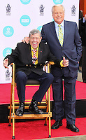 HOLLYWOOD, LOS ANGELES, CA, USA - APRIL 12: Jerry Lewis, Robert Osborne at the Jerry Lewis Hand And Footprint Ceremony during the 2014 TCM Classic Film Festival held at the TCL Chinese Theatre IMAX on April 12, 2014 in Hollywood, Los Angles, California, United States. (Photo by Xavier Collin/Celebrity Monitor)