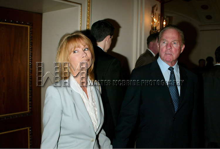 Kathie Lee Gifford and Frank Gifford<br /> Attending The American Theatre Wing's Annual Luncheon at the Pierre Hotel, New York City.<br /> April 14, 2003