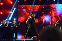 NITERÓI, RJ, 30.09.2018 - CANTA-NITERÓI -  Sorriso Maroto durante Festival Canta Niterói, no Teatro Popular em Niterói região metropolitana do Rio de Janeiro neste domingo, 30.  (Foto: Clever Felix/Brazil Photo Press)