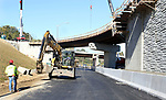 WATERBURY CT. 17 October 2017-101717SV14-The new I84 exit 25 ramp under construction in Waterbury Tuesday.<br /> Steven Valenti Republican-American