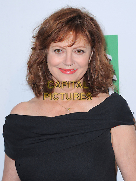 Susan Sarandon.16th Annual Hollywood Film Awards Gala held at the Beverly Hilton Hotel, Beverly Hills, California, USA..October 22nd, 2012.headshot portrait black off the shoulder .CAP/RKE/DVS.©DVS/RockinExposures/Capital Pictures.