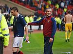 George Burley celebrates with Stephen McManus