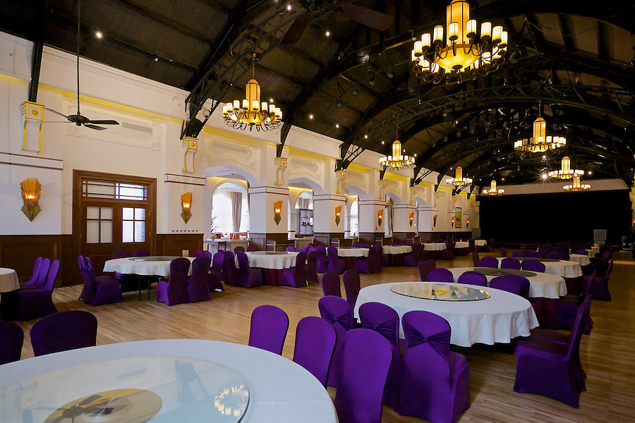 The Ballroom, At The Time Readied For A Large Function.