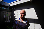 Forensic dentist Dr. Norman Skip Sperber poses for a portrait in his home in San Diego, California August 3, 2015. <br /> (Photo by Kendrick Brinson)
