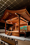 Tokyo, June 28 2013 - The stage of National Noh theater.