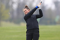Aine Donegan (LaHinch) on the 1st fairway during Round 1 of the Irish Girls U18 Open Stroke Play Championship at Roganstown Golf &amp; Country Club, Dublin, Ireland. 05/04/19 <br /> Picture:  Thos Caffrey / www.golffile.ie