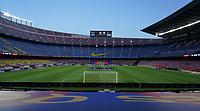 23rd June 2020, Camp Nou, Barcelona, Spain; La Liga Football league, FC Barcelona versus Athletico Bilbao;  empty view of Camp Nou due to covid-19 pandemic