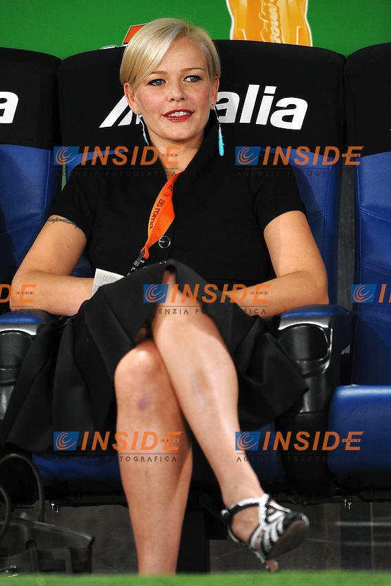 "Valentina MEZZAROMA Siena.Roma 22/9/2011 Stadio ""Olimpico"".Football Calcio Serie A 2011/2012.Roma Vs Siena.Foto Insidefoto Andrea Staccioli"