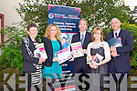 KERRY BUSINESS WEEK: Launching the Kerry County Enterprise Board Business Week 2012 to held from Monday 8th to Friday 12th October at venues through-out Kerry l-r: Margaret Murphy (administrator), Fiona Leahy (business advisor), Victor Sheehan (assistant CEO), Deirdre Moynihan (administrator) and Tomas (CEO).