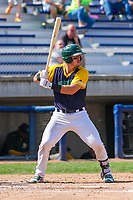 Beloit Snappers catcher Collin Theroux (23) at bat during a Midwest League game against the Cedar Rapids Kernels on September 3, 2017 at Pohlman Field in Beloit, Wisconsin. Beloit defeated Cedar Rapids 3-2. (Brad Krause/Four Seam Images)