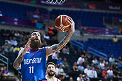 7th September 2017, Fenerbahce Arena, Istanbul, Turkey; FIBA Eurobasket Group D; Russia versus Great Britain; Small Forward Gareth Murray #11 of Great Britain drives to the basket during the match