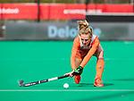 ROTTERDAM -  Lauren Stam (Ned)  tijdens de Pro League hockeywedstrijd dames, Nederland-USA .  COPYRIGHT  KOEN SUYK