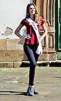 OURO PRETO, MG, 20.09.2013 - MISS BRASIL 2013 - Miss Piauí, Nathalya Araújo candidata a Miss Brasil 2013 durante visita a cidade historica de Ouro Preto a 100 km de Belo Horizonte. (Foto: Eduardo Tropia / Brazil Photo Press)