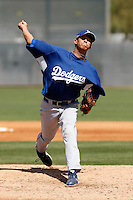 Carlos Frias - Los Angeles Dodgers - 2009 spring training.Photo by:  Bill Mitchell/Four Seam Images