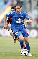 Getafe's Abdel Barrada during La Liga match. February 16, 2013. (ALTERPHOTOS/Alvaro Hernandez) /Nortephoto