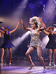 "Adrienne Warren with cast during the ""Tina - The Tina Turner Musical"" Opening Night Curtain Call at the Lunt-Fontanne Theatre on November 07, 2019 in New York City."